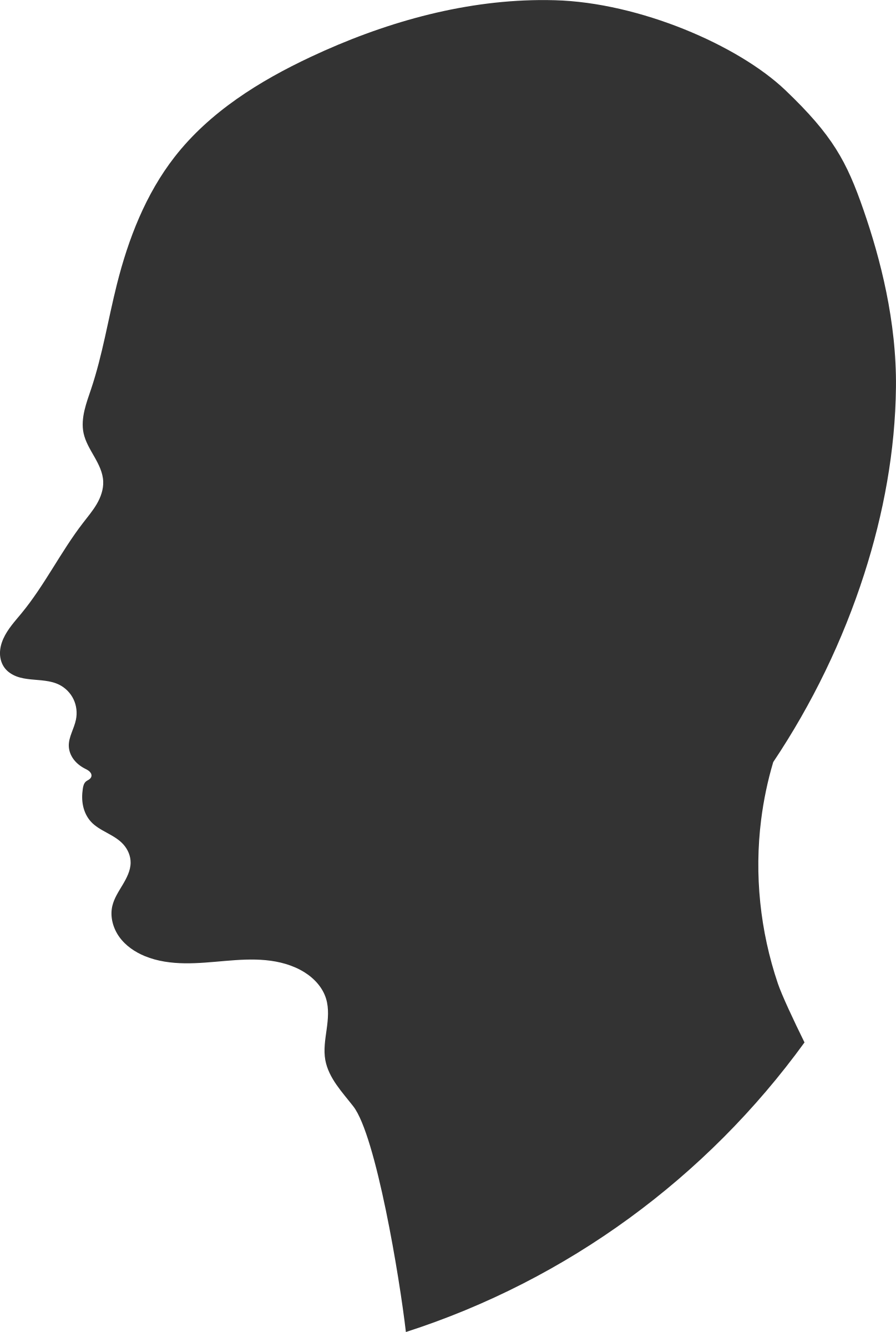 Profile big image png. Computers clipart head