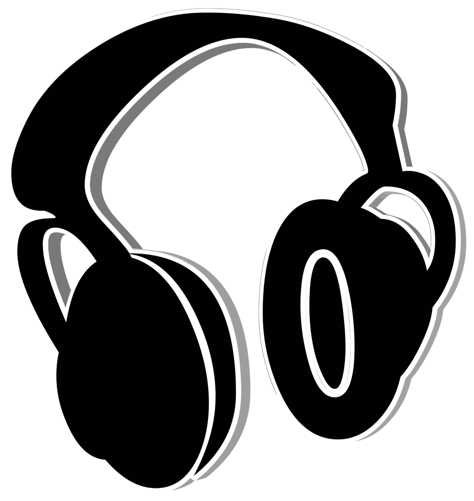 Electronics clipart computer equipment. Headphones icons clip art