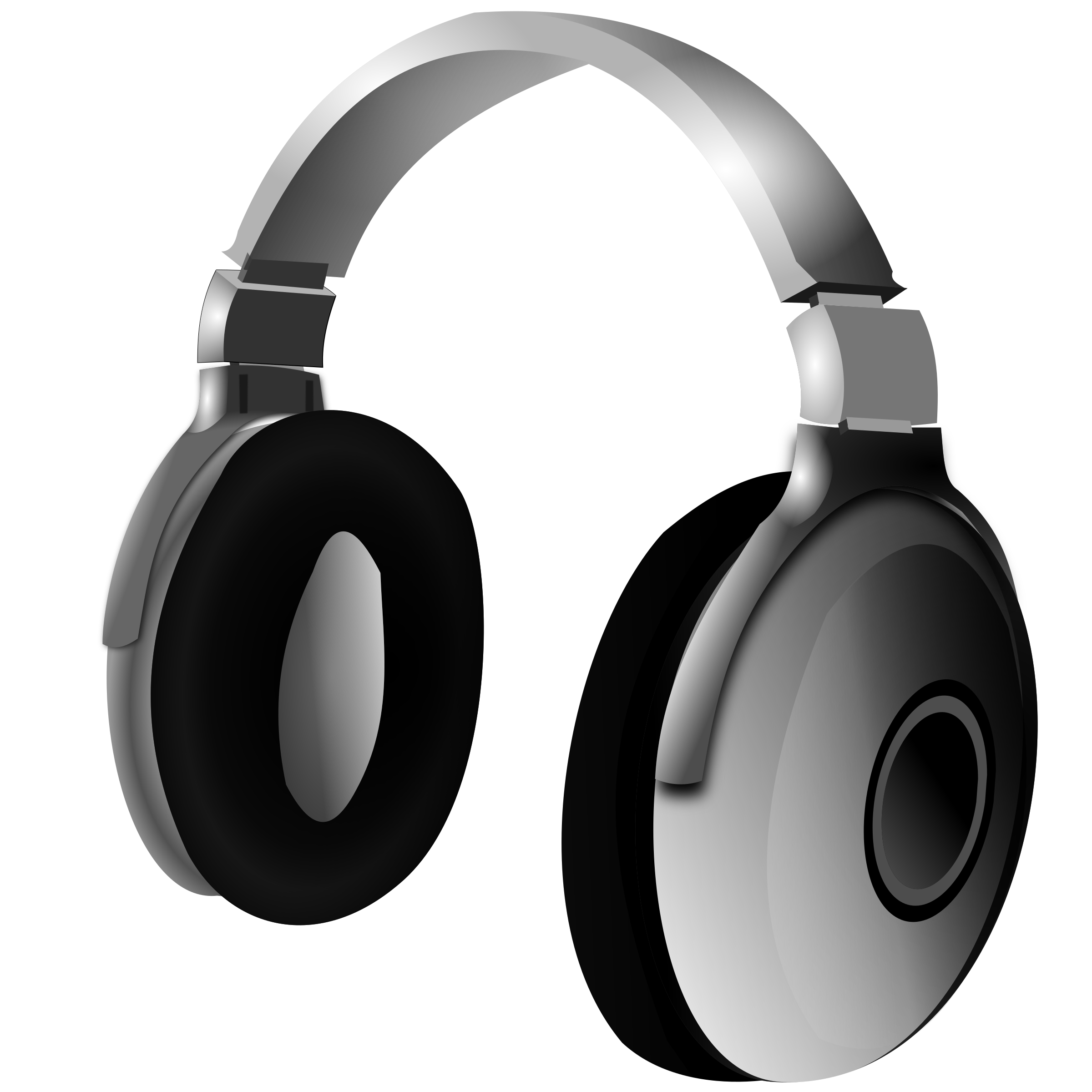 Headphone big image png. Headphones clipart head phone