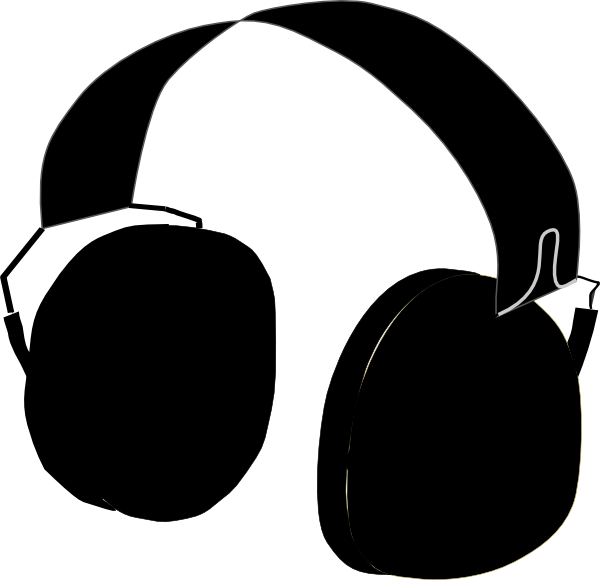 Headphones clip art at. Green clipart headphone