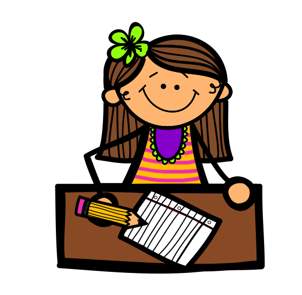 Desk clipart homework. Jokingart com handwriting