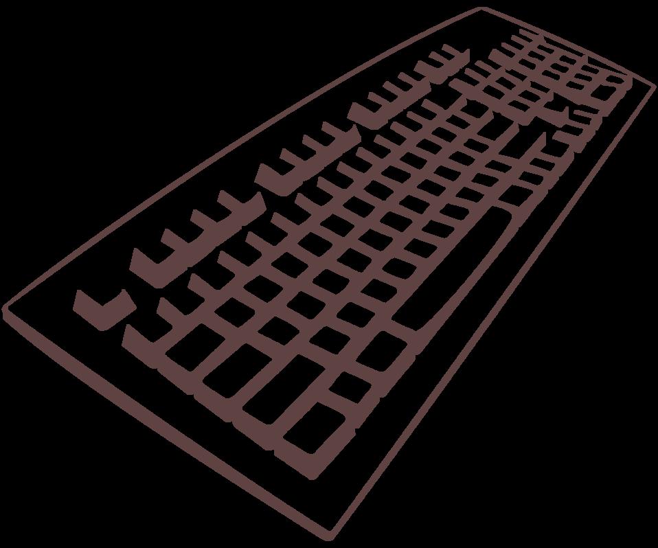 Public domain clip art. Clipart computer keyboard
