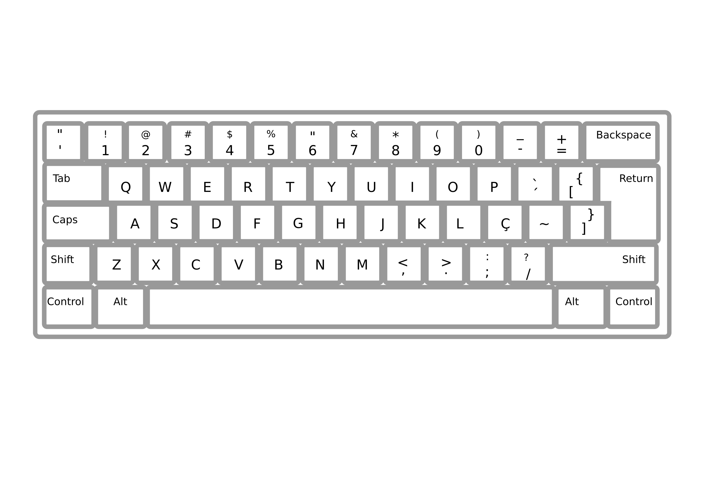 collection of images. White clipart keyboard