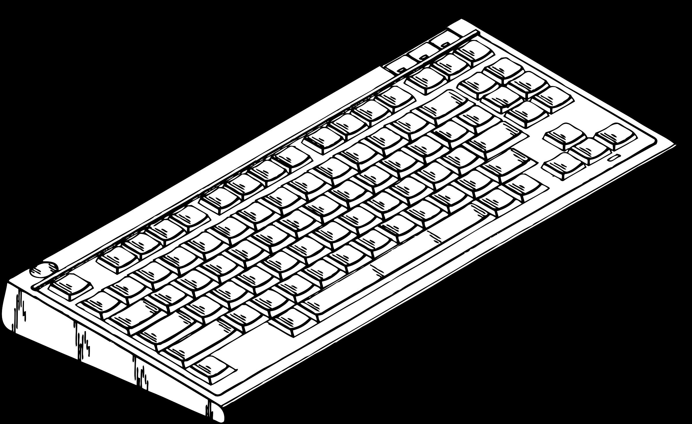 Big image png. Computer clipart keyboard