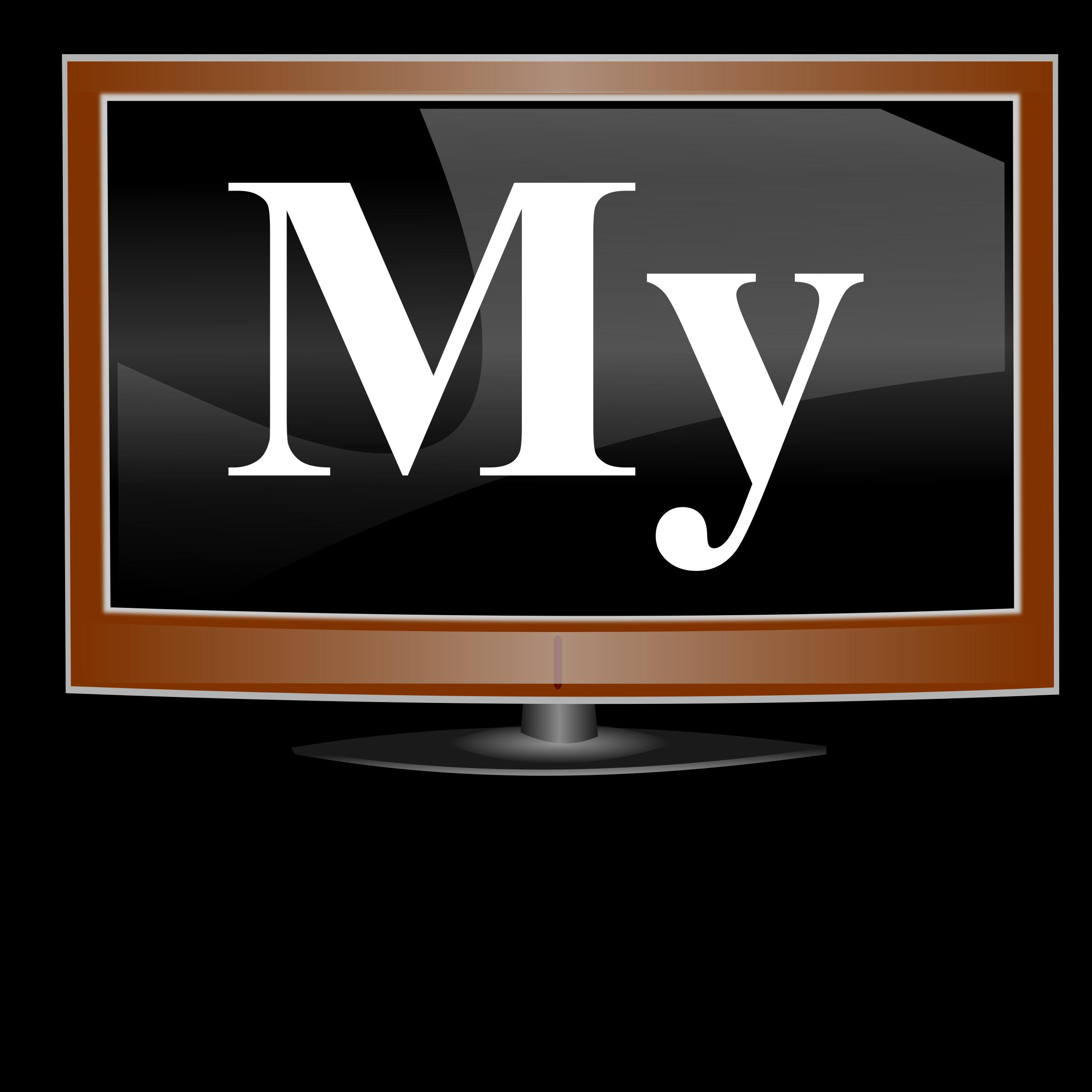My big image png. Computer clipart logo