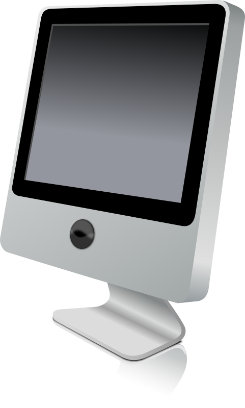 A new medium image. Clipart computer mac