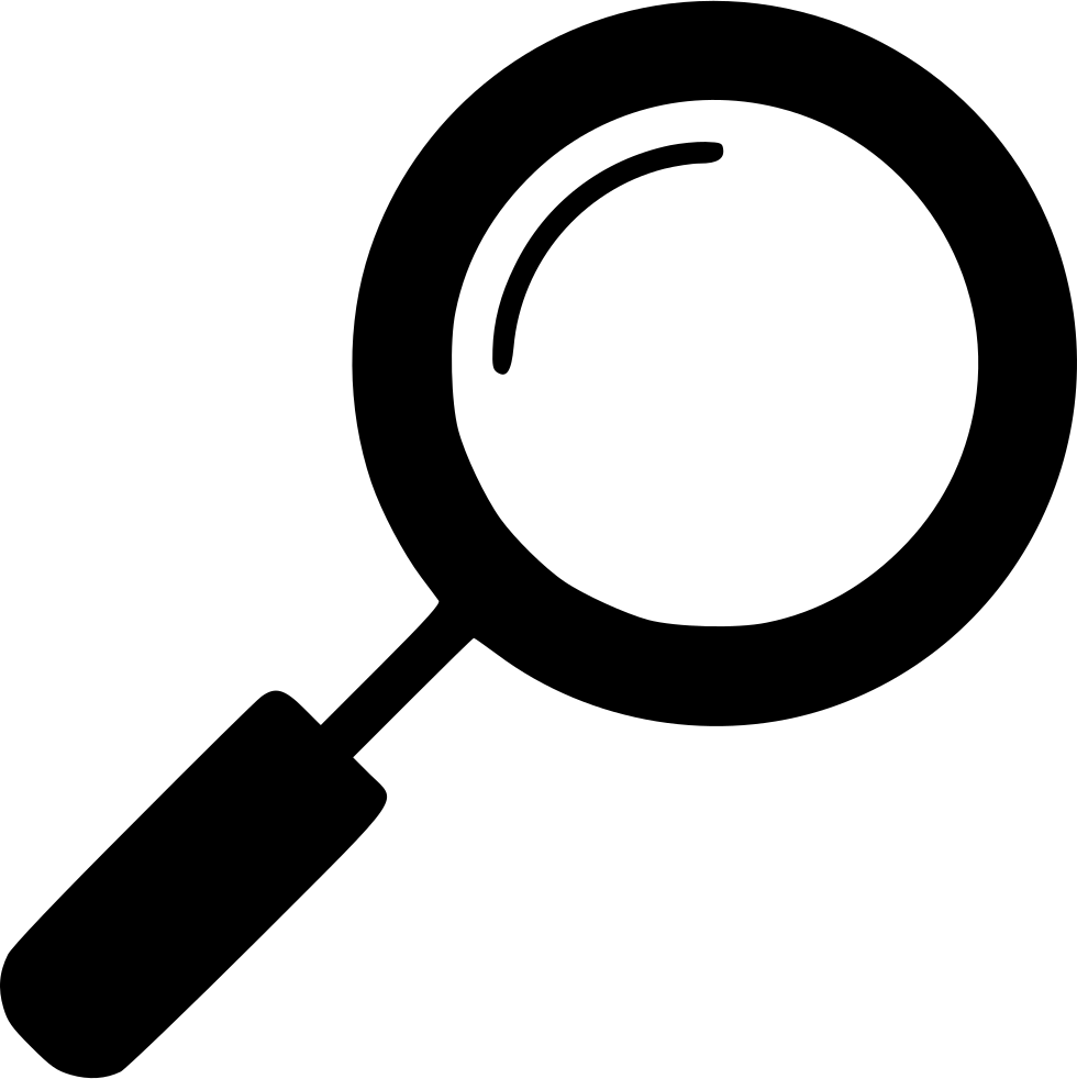 Svg free download comments. Magnifying glass icon png