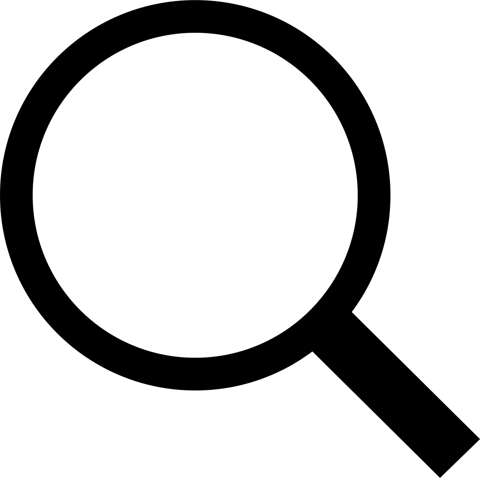 Search svg png icon. Clipart computer magnifying glass