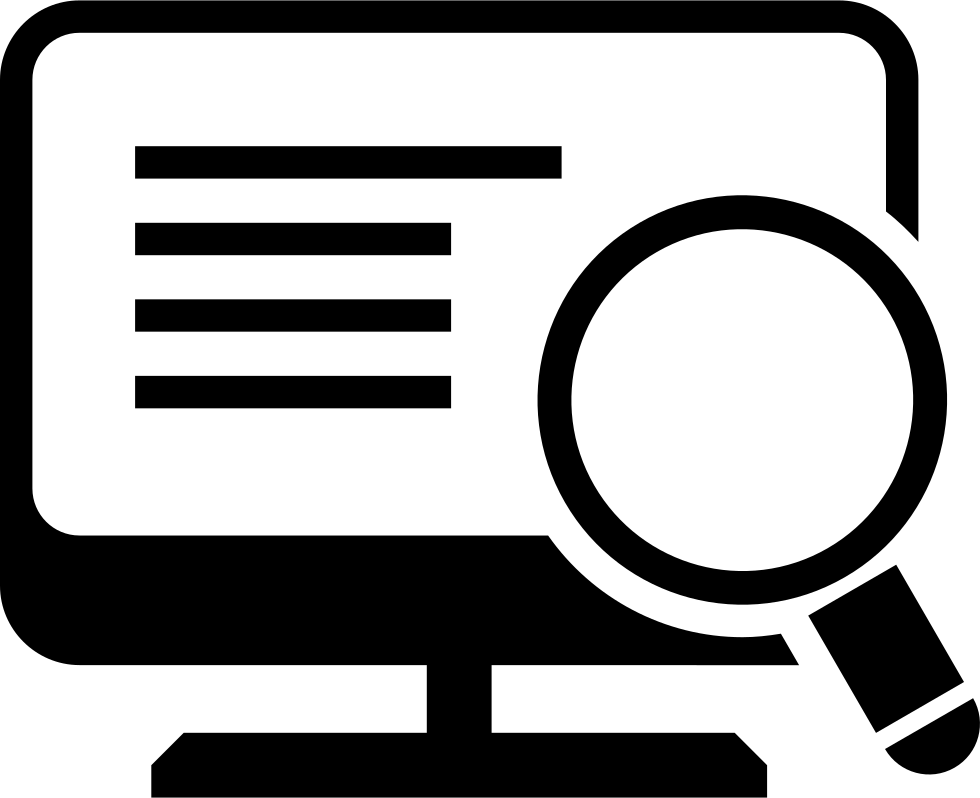 Clipart computer magnifying glass. Free collection download and