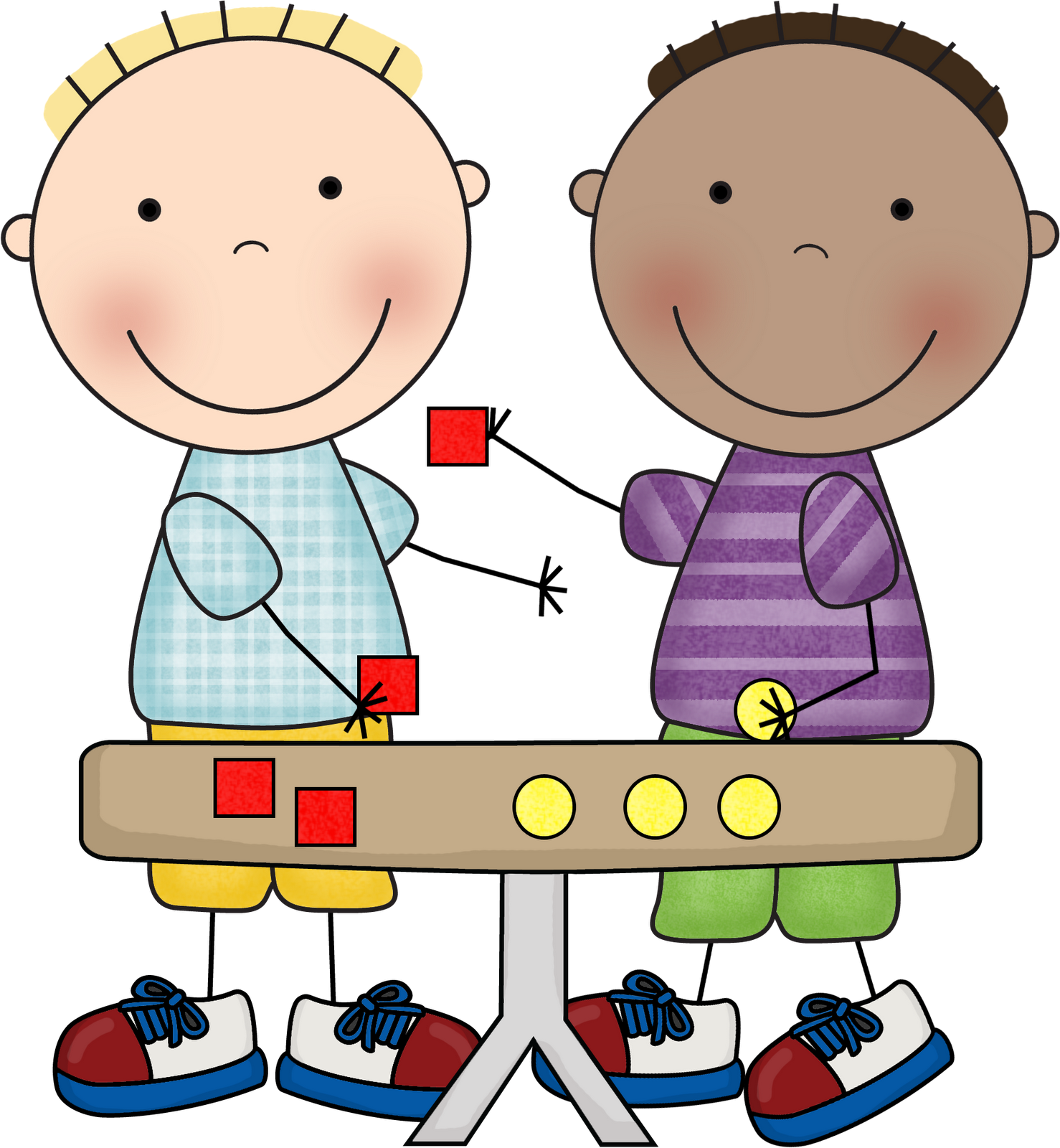 collection of math. Working clipart partnership