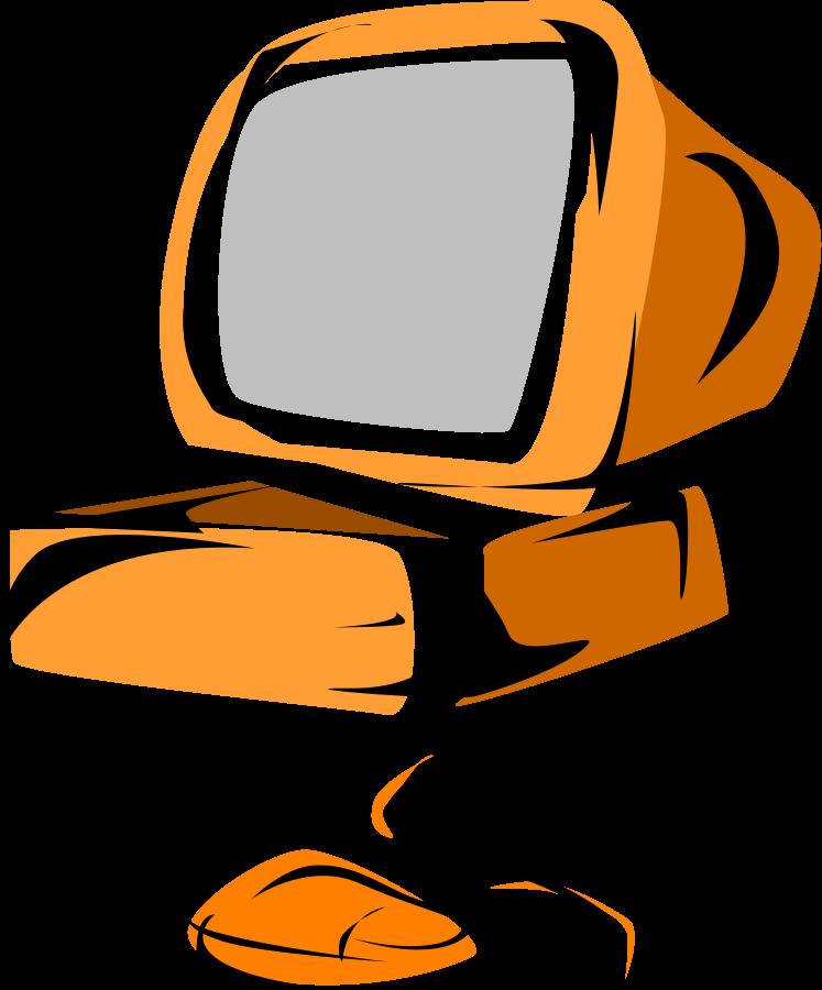 computer clipart logo