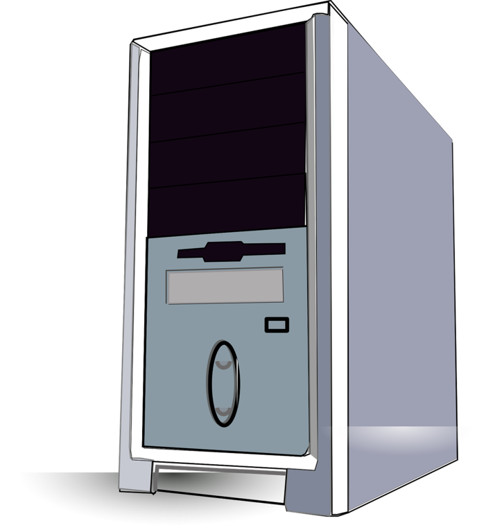 Pc tower clipart