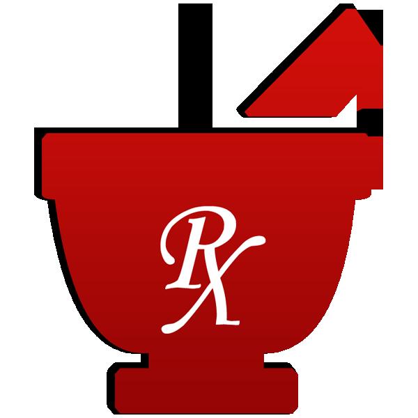 Mortar pestle symbol rx. Computer clipart pharmacist