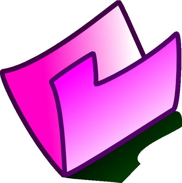 computer clipart pink