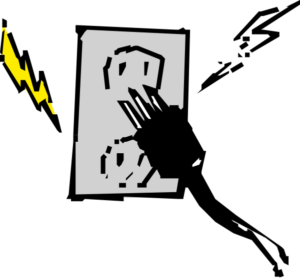 electric clipart animated
