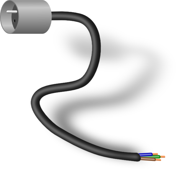 Computer clipart plug. Connector clip art at