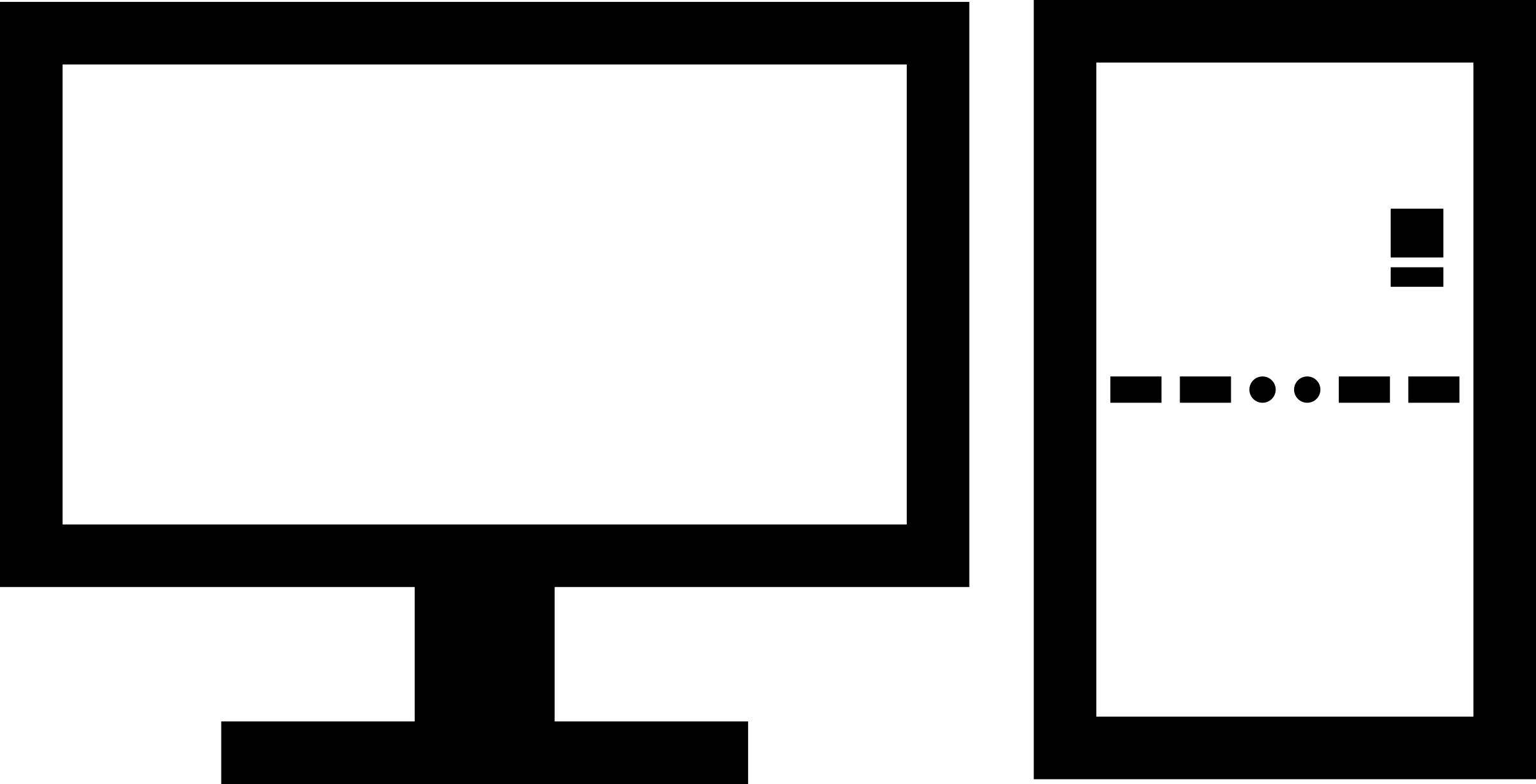 Computer clipart plug. Minimal desktop with usb