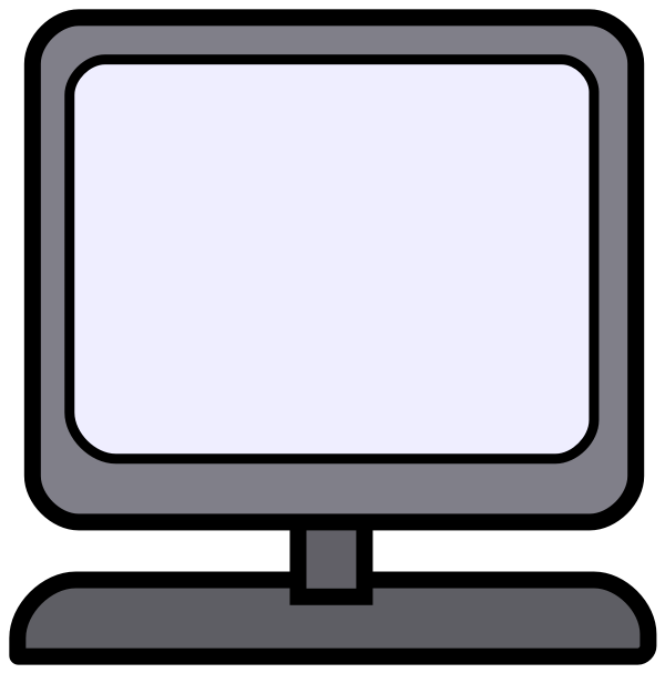Free cartoon k computer. Evidence clipart equipment