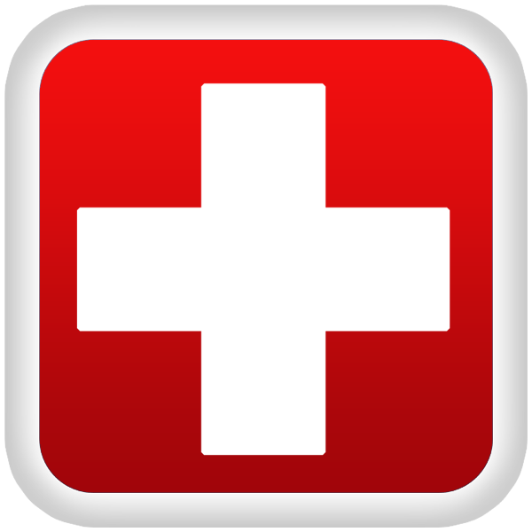 Clipart football red. Medical cross symbol image