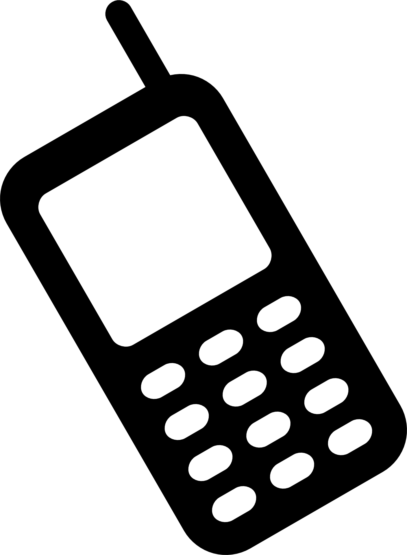 Telephone clipart phone computer. Iphone smartphone icons clip