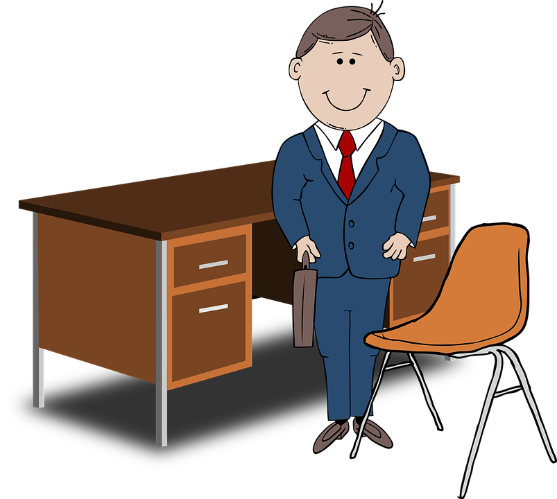 Meeting clipart desk. Collection of art clip