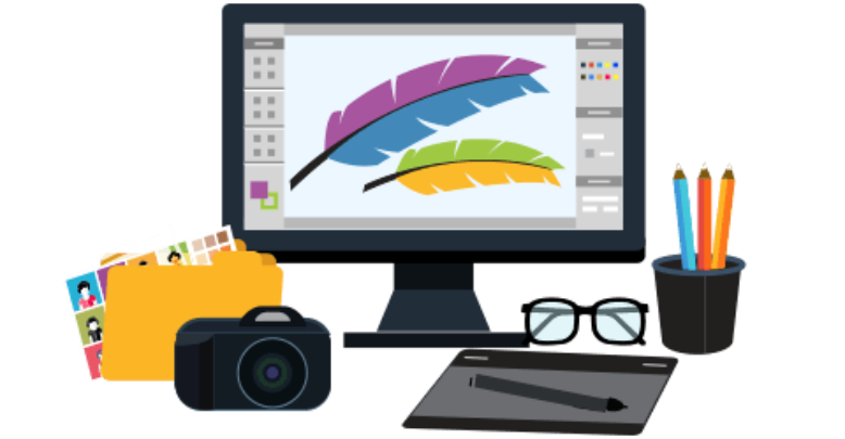 Frames illustrations hd images. Design clipart computer