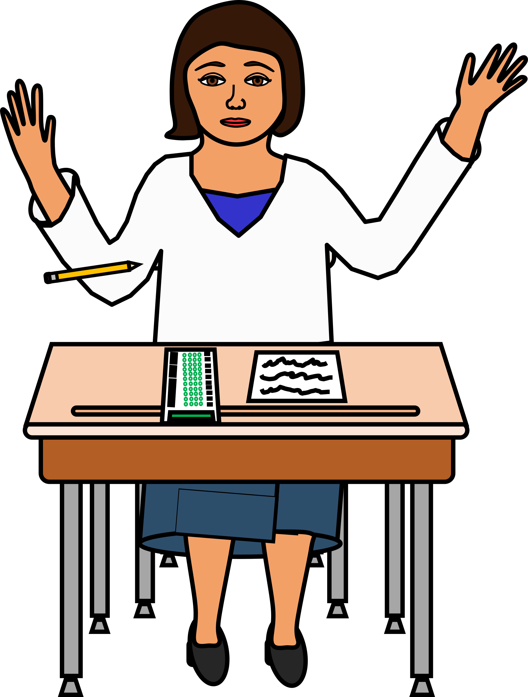 Student testing free download. Clipart pencil hand