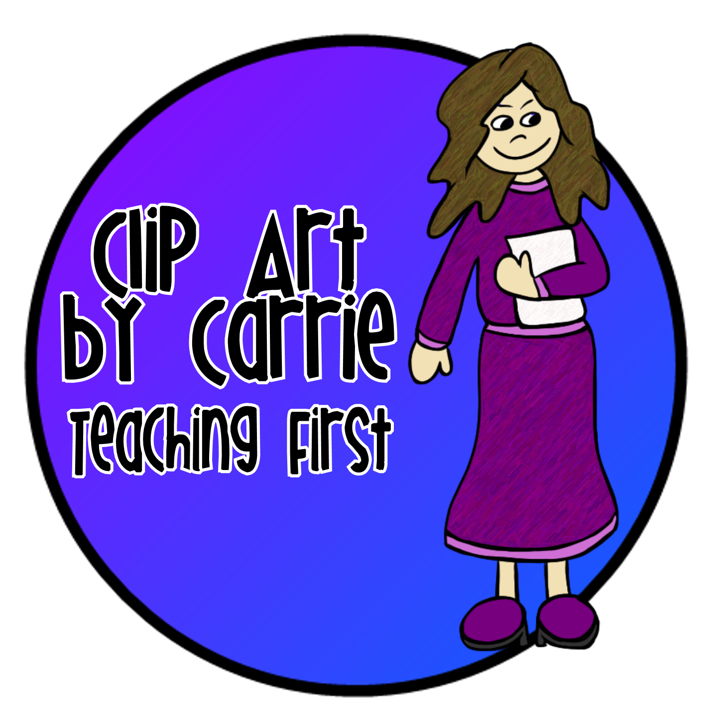 Clip art by carrie. Planet clipart teacher