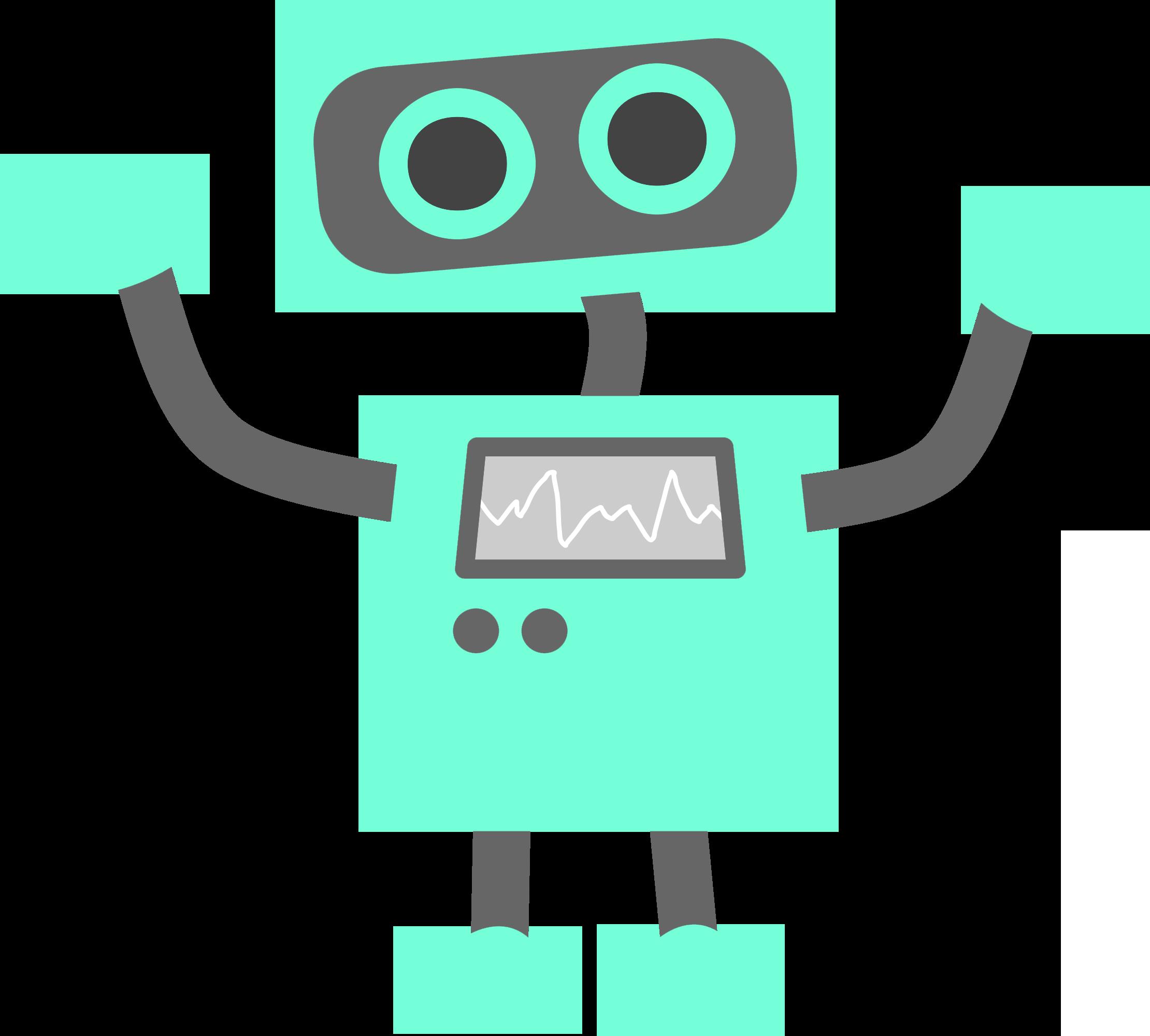 Computer clipart technology. Icons clip art robot