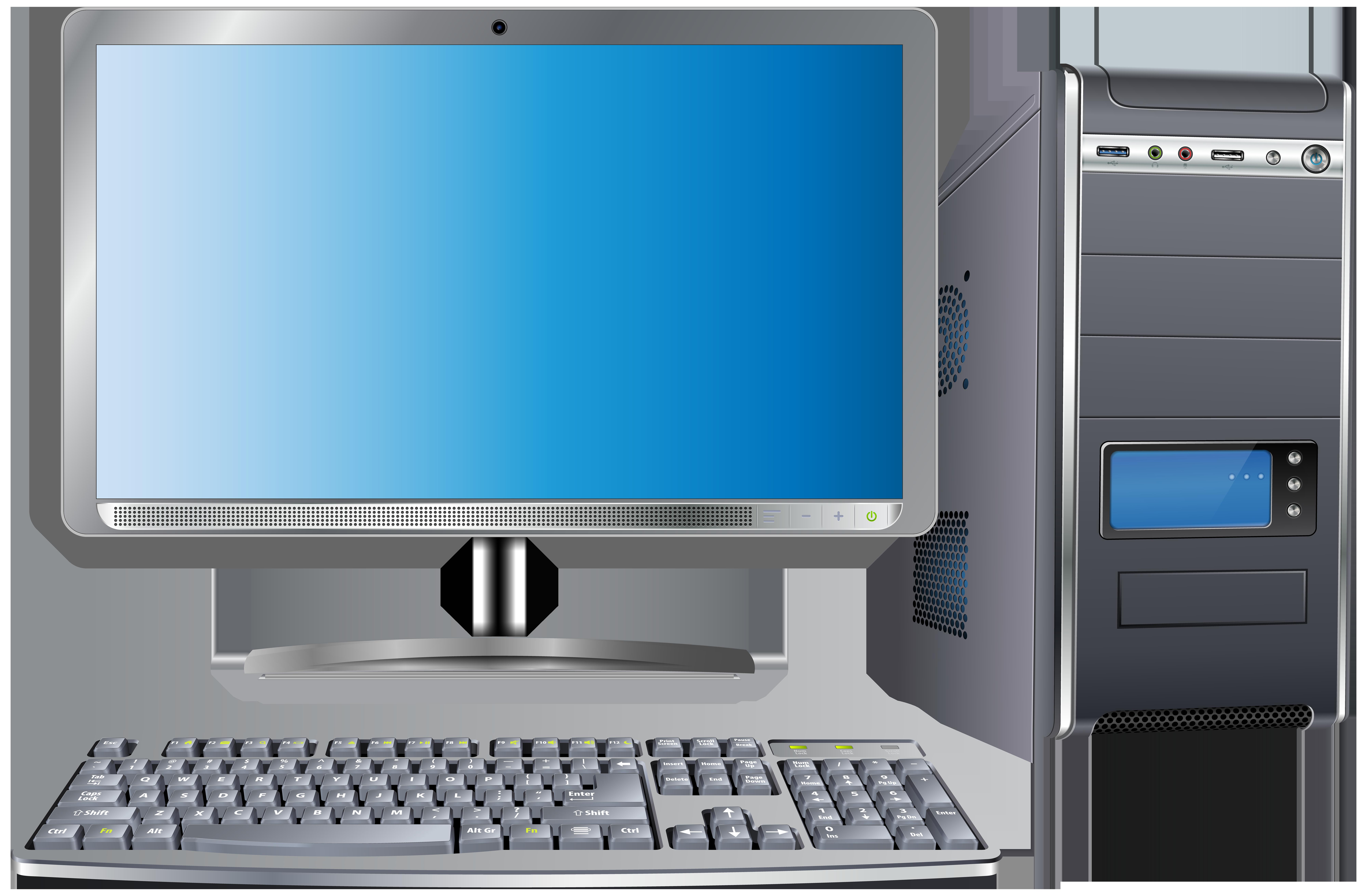 Paper clipart computer. Set transparent png clip