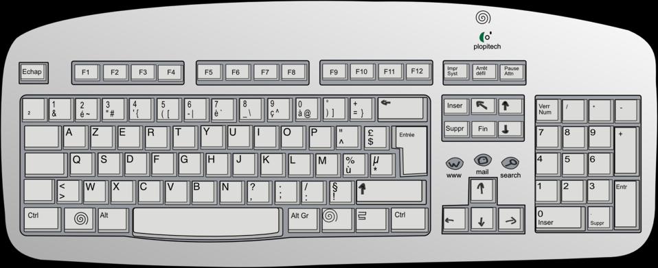 Keyboard clipart pink. Public domain clip art