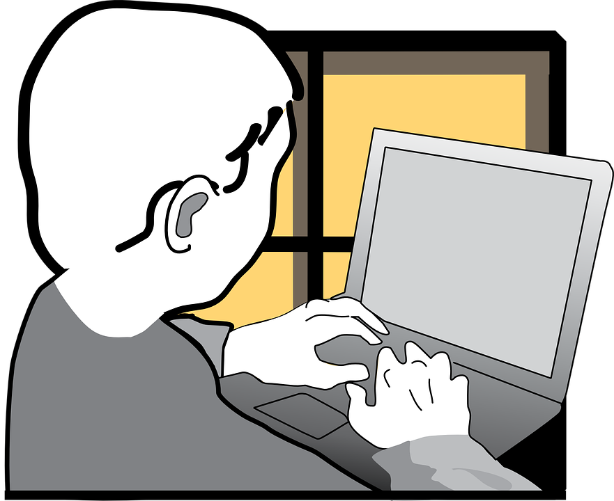 Computer clipart typing. Student png transparent images
