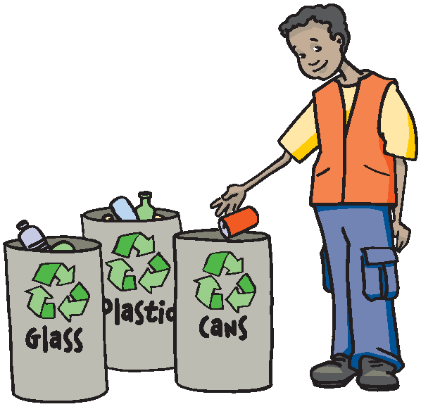 A disposal . Clipart computer waste