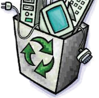 Free e waste cliparts. Electronics clipart electronic recycling