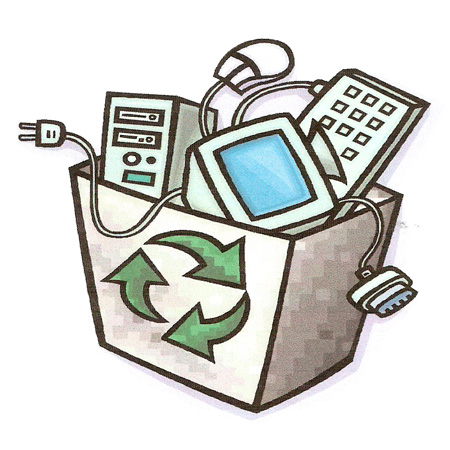 Electronics clipart electronic recycling. Free e waste cliparts