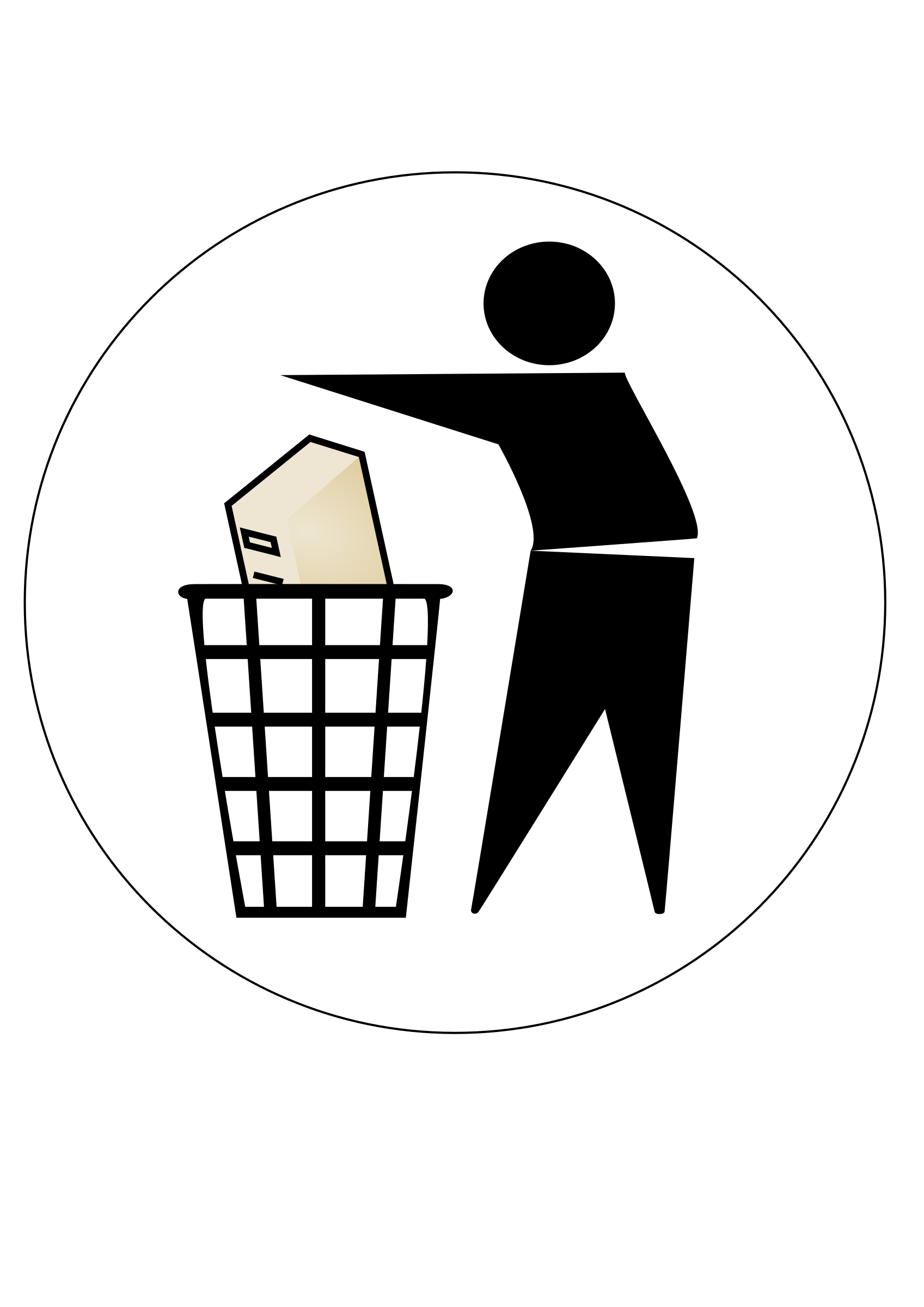 Clipart computer waste. Throw away big image