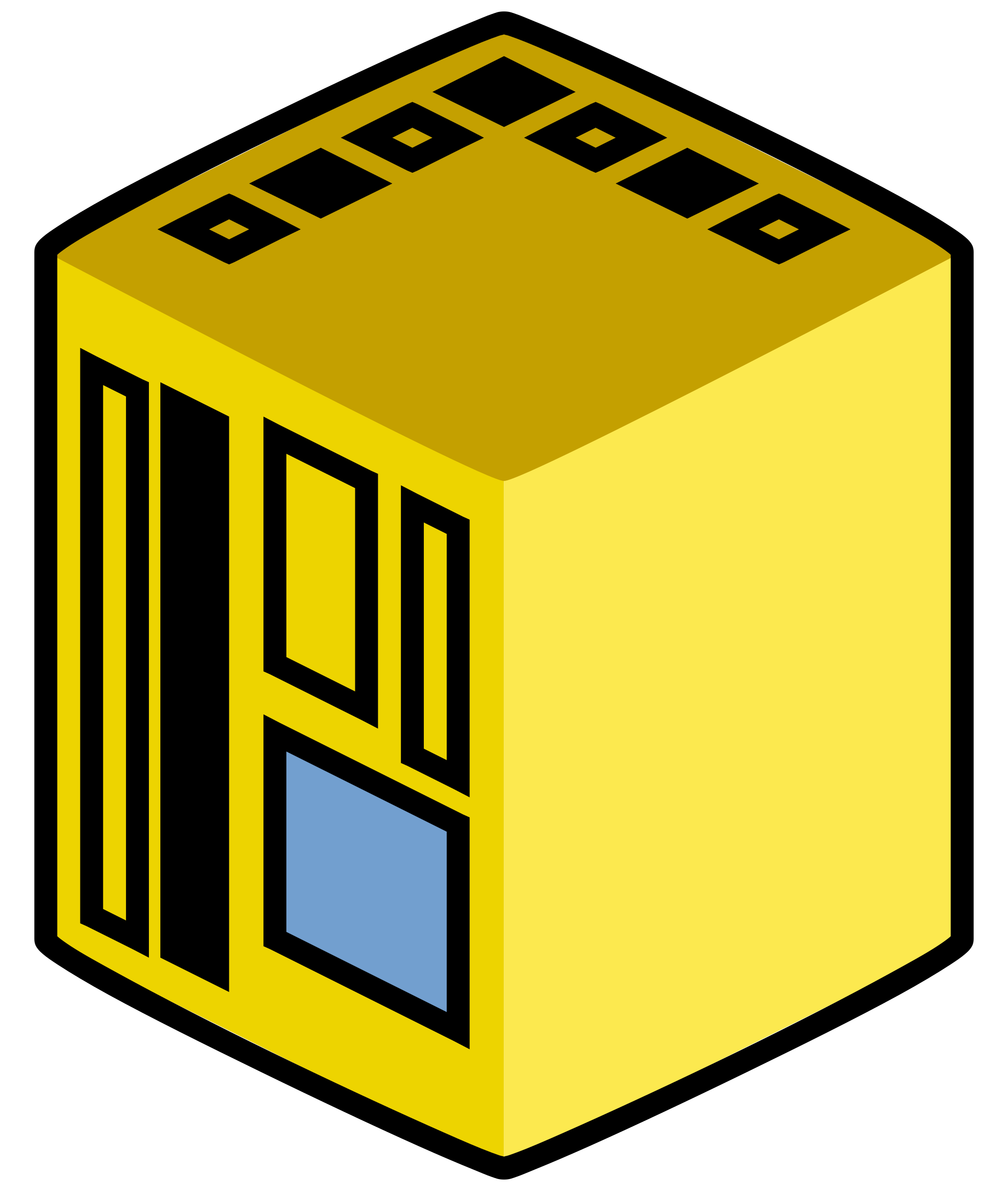Central big image png. Computer clipart yellow