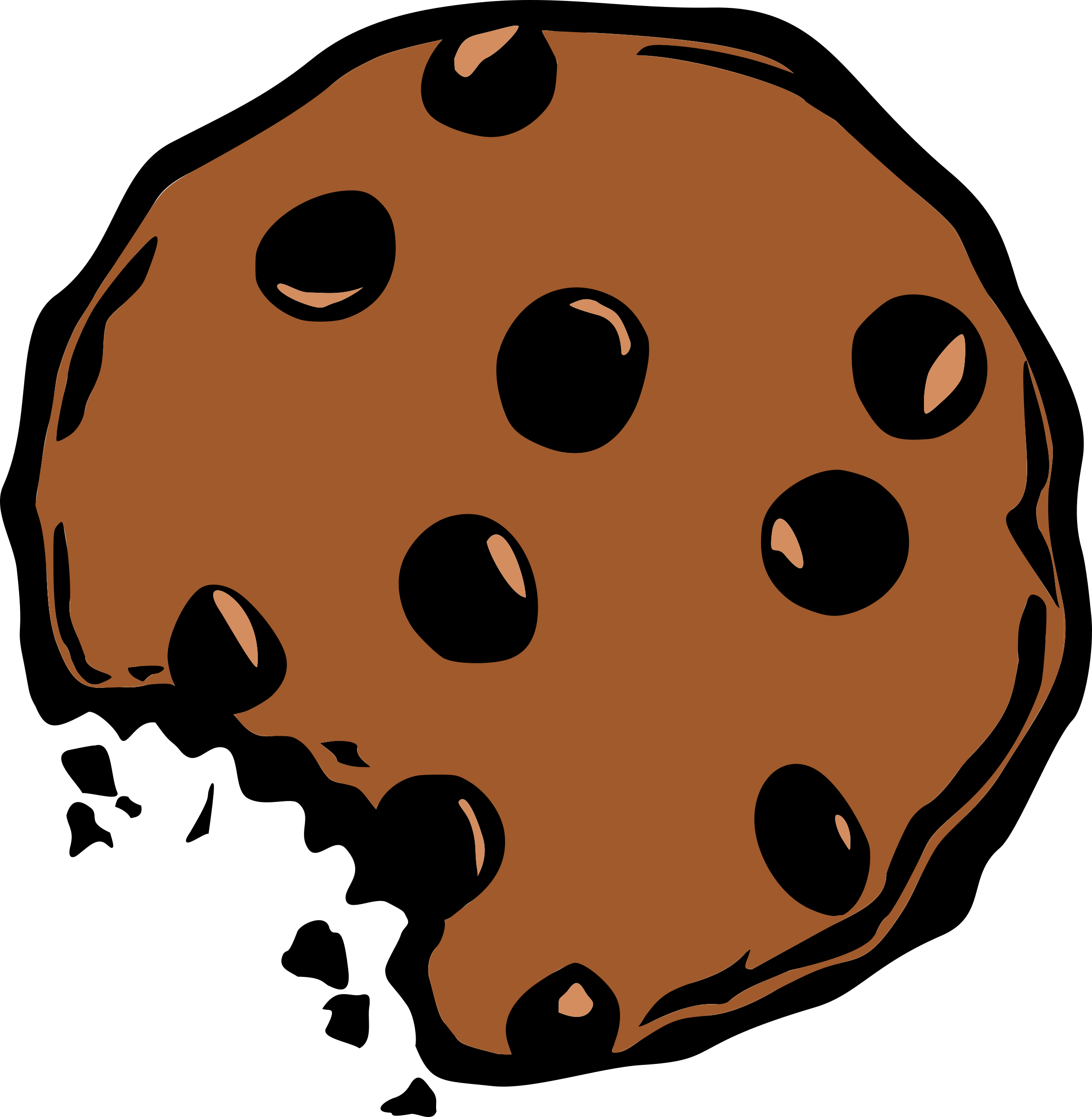 Big image png. Cookie clipart