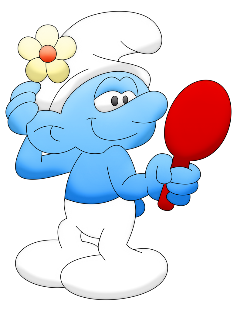 Old clipart grouchy. Co smurfs smurf vaidoso