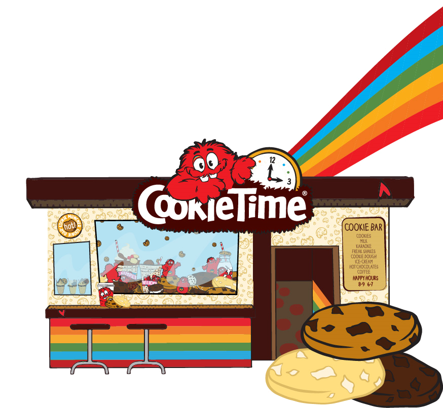 Desert clipart chocolate chip cookie. Muncher cookiebar the bar