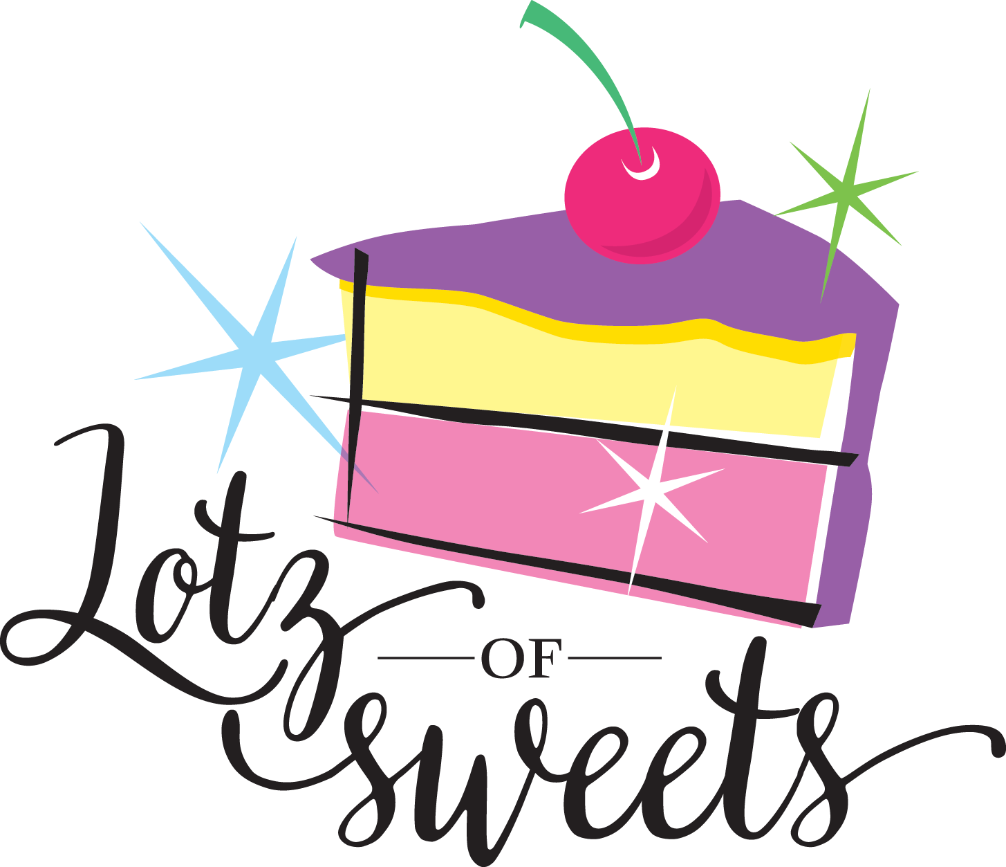 Lotz of sweets dessert. Desserts clipart candy