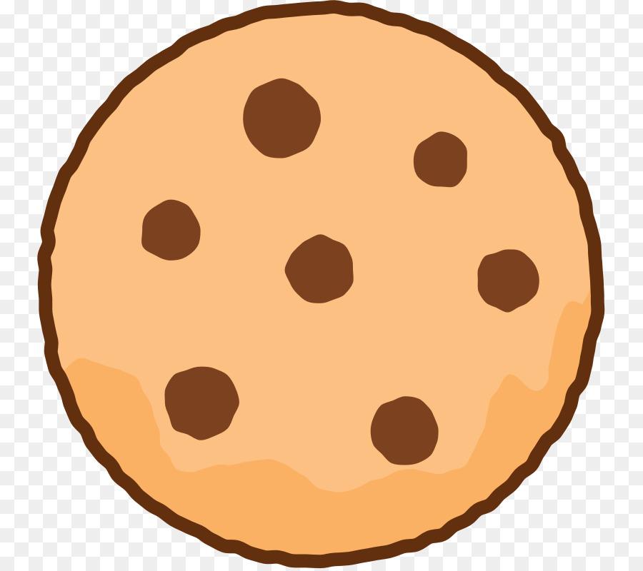 Cupcake cartoon food circle. Cookie clipart kawaii