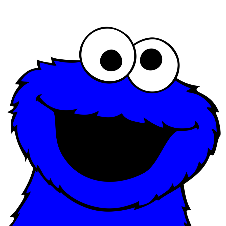 Pictures vector by plzexplode. Number 1 clipart cookie monster