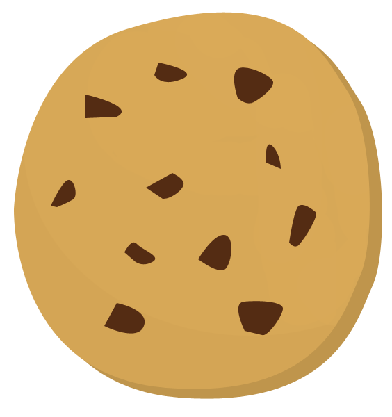 Chemistry of baking cookies. Cookie clipart butter cookie