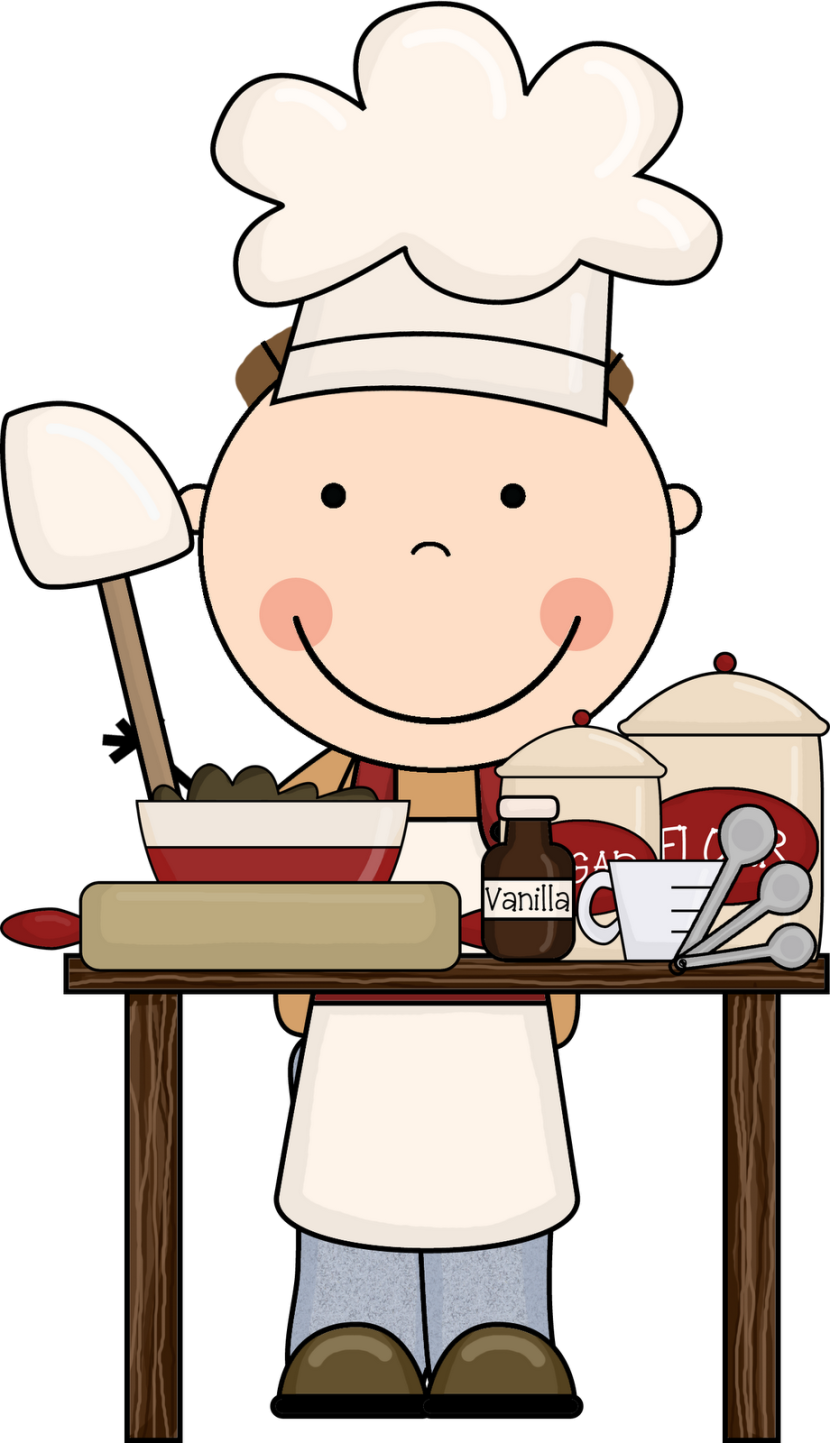 Cookie clip art pictures. Cooking clipart covered food