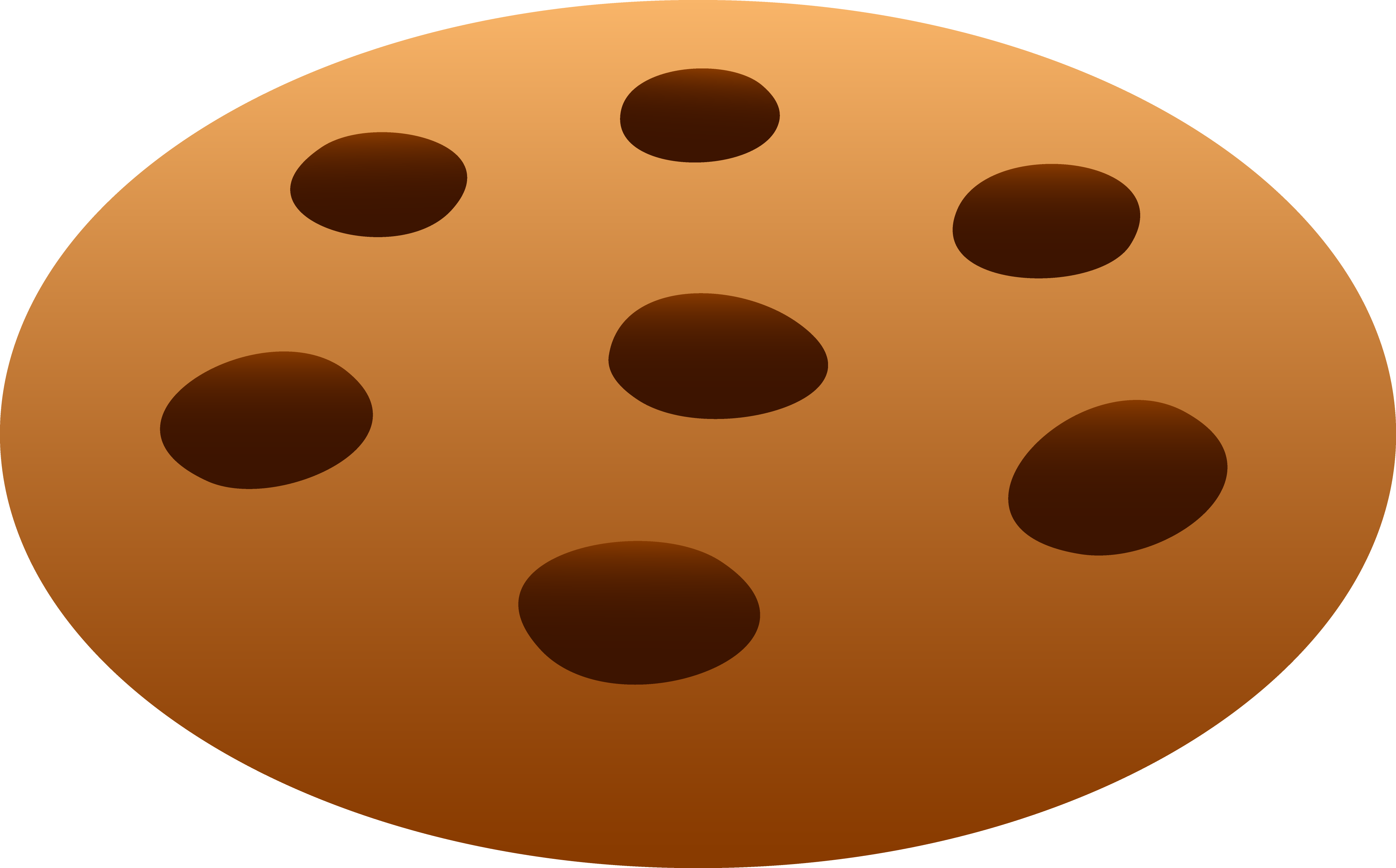 Chocolate chip free clip. Moving clipart cookie