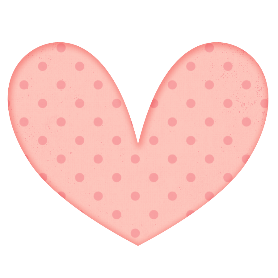 Clipart hearts cookie. Free polka dot heart
