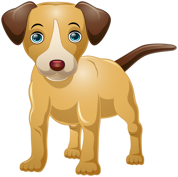 Pet clipart valentine. Dog cartoon png clip