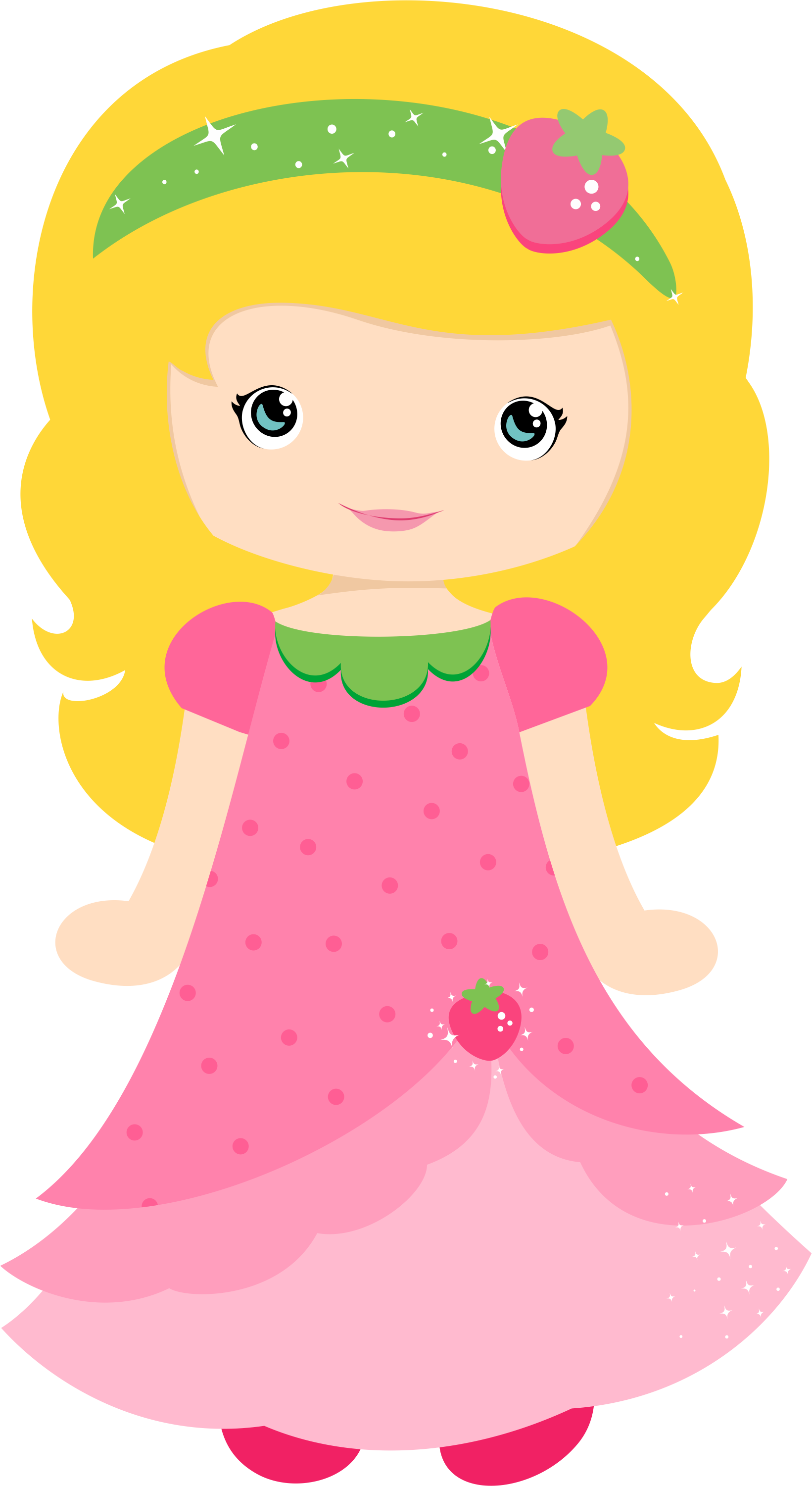 Strawberries clipart princess. Pin by obeidat elena