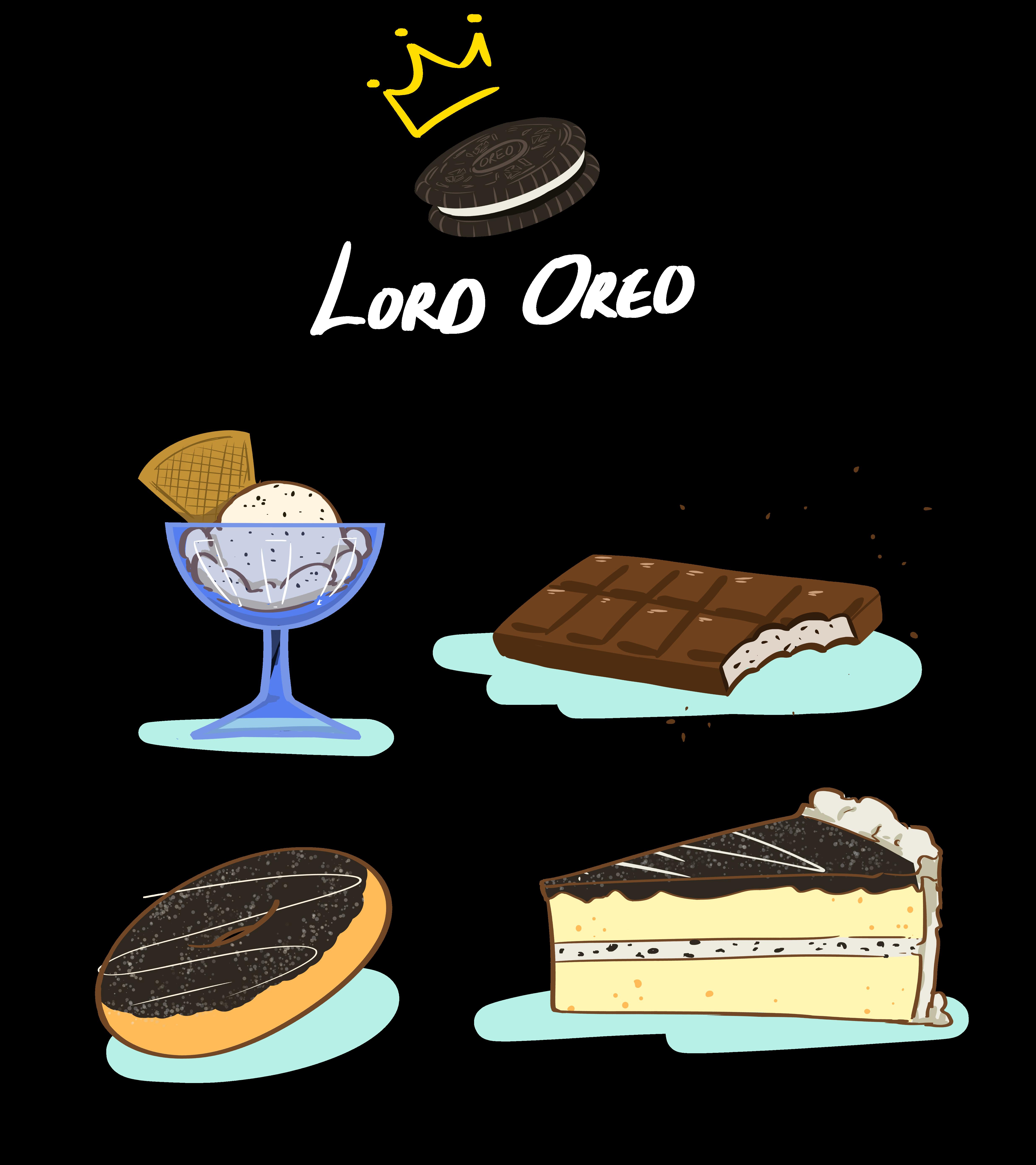 Steemit but eating just. Oreo clipart illustration